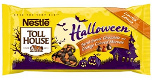 Nestle Toll House Halloween Morsels $0.75 off Nestle Toll House Halloween Morsels Coupon
