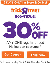 Toys R Us Halloween Costume Coupon Toys R Us: 30% off Halloween Costume Coupon