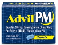 Advil Pm Product 32 Count $1 off Advil PM Product 16ct or larger Coupon