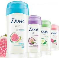 $1 off Dove Go Fresh Deodorant Coupon - Hunt4Freebies