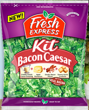 Fresh Express Bacon Cesar Kit $0.75 off Fresh Express Bacon Cesar Kit Coupon