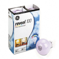 GE Reveal 60 watt 4 pk Lightbulbs $1 off GE Reveal Lighting Product Coupon
