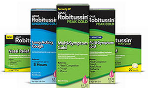 Robitussin product $1 off Robitussin Adult or Childrens Product Coupon