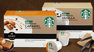 Starbucks K Cup Coffee $1.50 off Starbucks Box of K Cup Packs Coupon