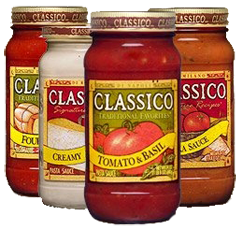 Classico Pasta $1.50 off 4 Classico Products Coupon