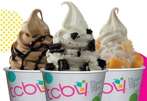 TCBY Yogurt TCBY Yogurt: BOGO FREE Item Coupon