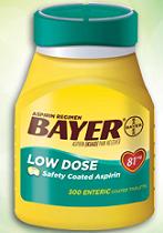 Bayer Aspirin $2 off Bayer Aspirin Coupon