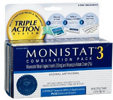 Monistat Product $3 off ANY Monistat 1 or Monistat 3 Product Coupon