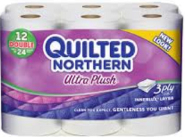 Quilted Northern 12 Double Roll $1 off Quilted Northern 24 Double Roll Coupon