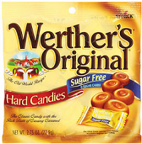 Werthers Original Sugar Free Candy Bags $1 off Werther's Original Sugar Free Coupon