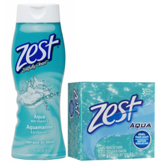 Zest NEW Zest Body Wash and Bar Soap Coupons