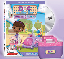 Doc McStuffins $6 off Doc McStuffins: Mobile Clinic Plus one other Eligibile Disney Jr. DVD