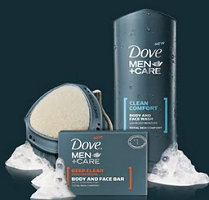 Dove Men Care $1 off Dove Men Plus Care Body Wash, Body Bar or Hair Product Coupon