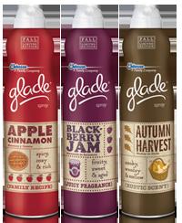 Glade Premium Room Spray $0.75 off Glade Premium Room Spray Coupon