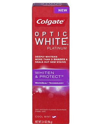 Colgate Optic White Platinum Toothpaste $1.50 off Colgate Optic White Platinum Toothpaste Coupon