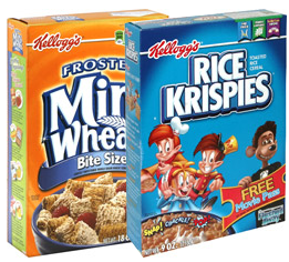 Kelloggs Cereals1 $1 off ANY 3 Kelloggs Cereals Coupon