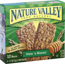 Nature Valley Granola Bars $0.50 off Box of Nature Valley Granola Bars Coupon