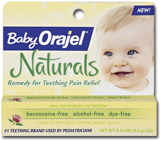 Orajel Naturals Teething Product $1 off Orajel Naturals Product Coupon