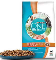 purina cat food $3 off Purina One Dog and Cat Food Coupons