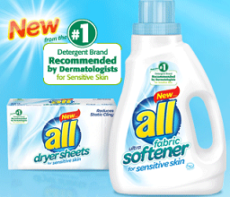 All Free Clear Fabric Softener $1 off All Free Clear Fabric Softener Coupon
