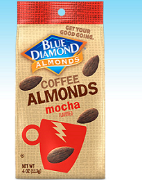 Blue Diamond Coffee Almonds $0.75 off Blue Diamond Coffee Almonds Coupon