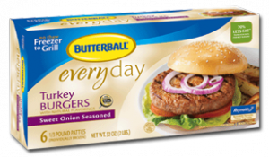 Butterball Original Frozen Turkey Burgers 300x175 2 NEW Butterball Turkey Coupons