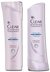 Clear scalp and hair beauty therapy $1.50 off Clear Product Coupon