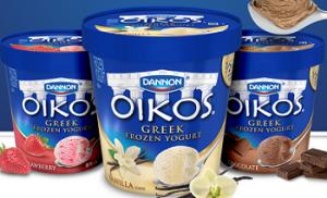 Dannon Okios Greek Frozen Yogurt 300x182 $1 off Dannon Okios Greek Frozen Yogurt Coupon