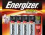 Energizer Max Brand Batteries