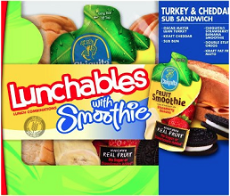 LUNCHABLES with Smoothie $1 off 2 LUNCHABLES with Smoothie Coupon