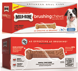 Milk Bone Brushing Chews $1 off Milk Bone Brushing Chews Coupon