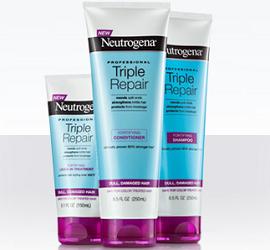 Neutrogena Triple Repair Hair Products