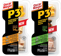 Oscar Mayer P3 Protein Power $1 off ANY 2 Oscar Mayer P3 Portable Protein Packs Coupon