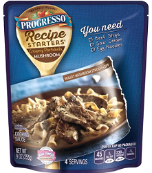 Pouch of Progresso Recipe Starters1 $0.50 off Pouch of Progresso Recipe Starters Cooking Sauce Coupon