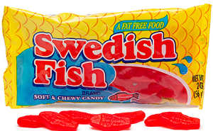 Swedish Fish Candy $1 off 2 Sour Patch Kids or Swedish Fish Candy Coupon