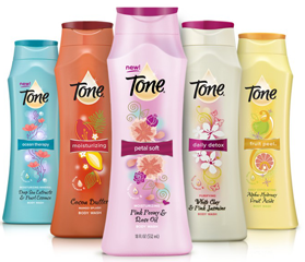 Tone Body Wash1 $1 off Tone Body Wash or Bath Bar Coupon