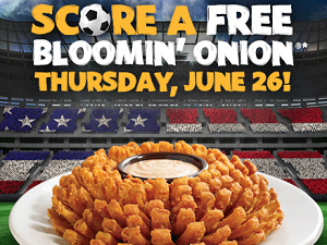 FREE Bloomin Onion Outback Steakhouse: FREE Bloomin Onion With ANY Purchase (Today)