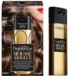 LOreal Paris Mousse Absolue Haircolor $3 off L'Oréal Paris Mousse Absolue Haircolor Coupon