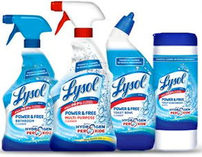 Lysol Multi Purpose Bathroom Cleaner $0.50 off Lysol Multi Purpose Bathroom Cleaner Coupon