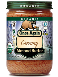 Once Again Nut Butter Product