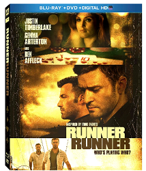 Runner Runner Bluray 2 NEW DVD or Blu ray Coupons