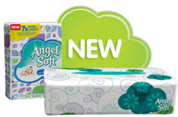 Angel Soft Facial Tissue Soft Pack $0.50 off Angel Soft Facial Tissue Soft Pack Coupon