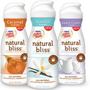 Coffee Mate Natural Bliss1 $0.75 off any One Coffee Mate Natural Bliss Liquid Creamer Coupon