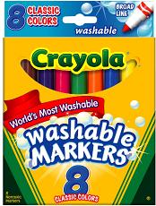 Crayola Washable Markers1 5 NEW Crayola Coupons