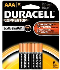 Duracell 6-pack