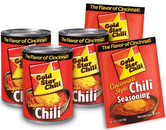 Gold Star Chili 3 NEW Gold Star Chili Coupons