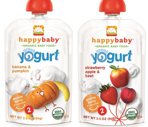 Happy Baby Organic Baby Food Pouch BOGO FREE Happy Baby Organic Baby Food Pouch Coupon