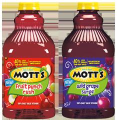 Motts Fruit Cocktails $1 off Motts Fruit Juice Coupon