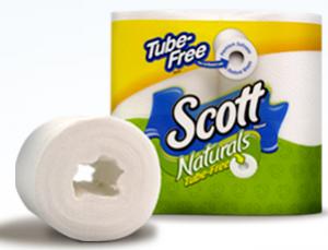 Scott Naturals Tube Free Bath Tissue 300x229 Over $1.50 off Scott Naturals Tube Free Bath Tissue Coupon