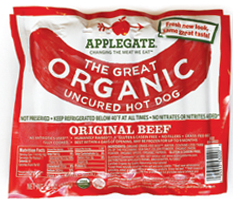 AppleGate Hot Dogs $1.50 off AppleGate Hot Dogs Coupon